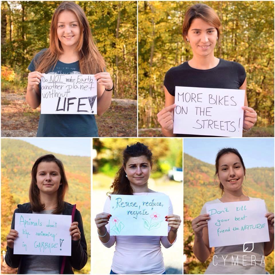Projekt Be an european citizen, become an eco-citizen