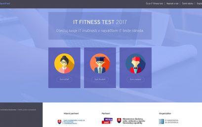 Výsledky IT FITNESS testu 2017