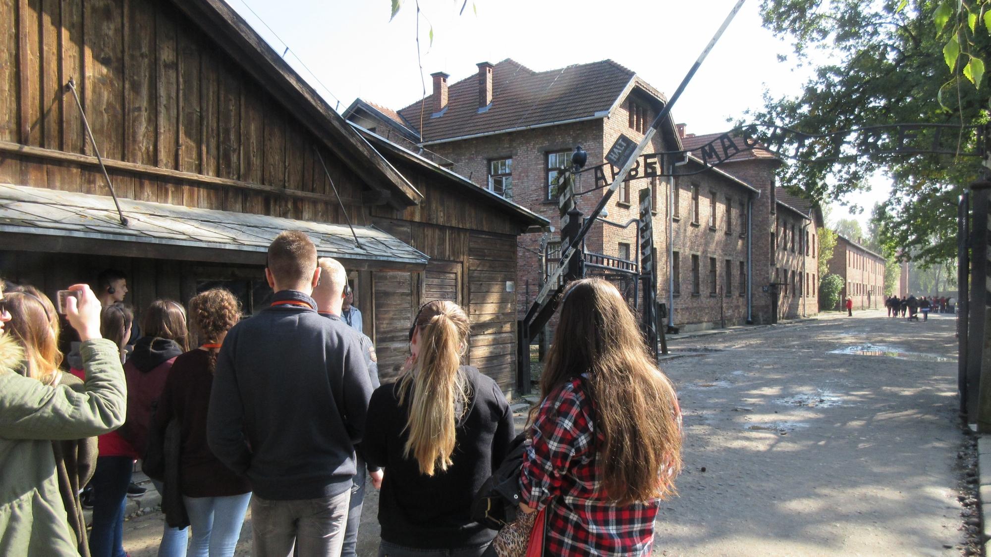 Exkurzia do koncentračného tábora vOsvienčime