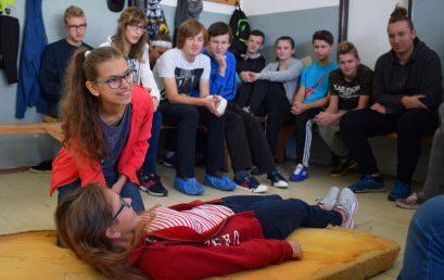 Účelové cvičenie pre žiakov I. ročníka