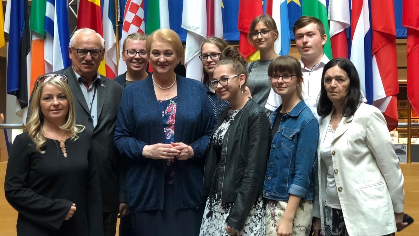 Návšteva Európskeho parlamentu v Štrasburgu