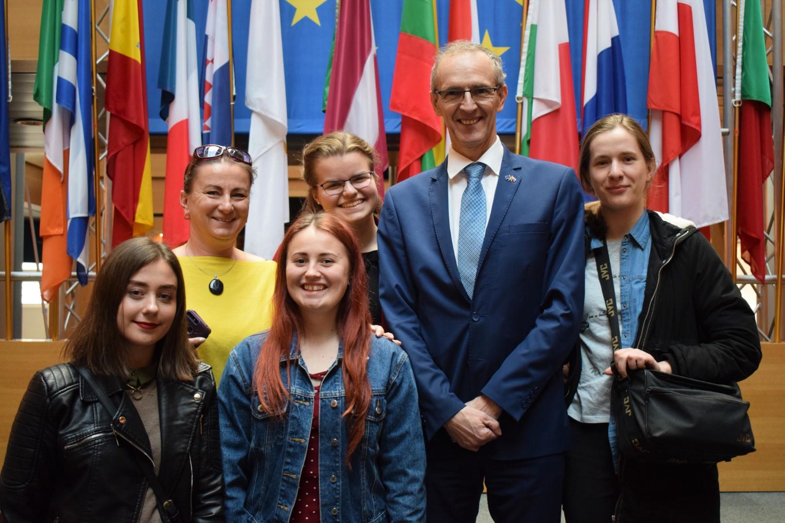 Najlepší stredoškolský časopis v centre európskej politiky