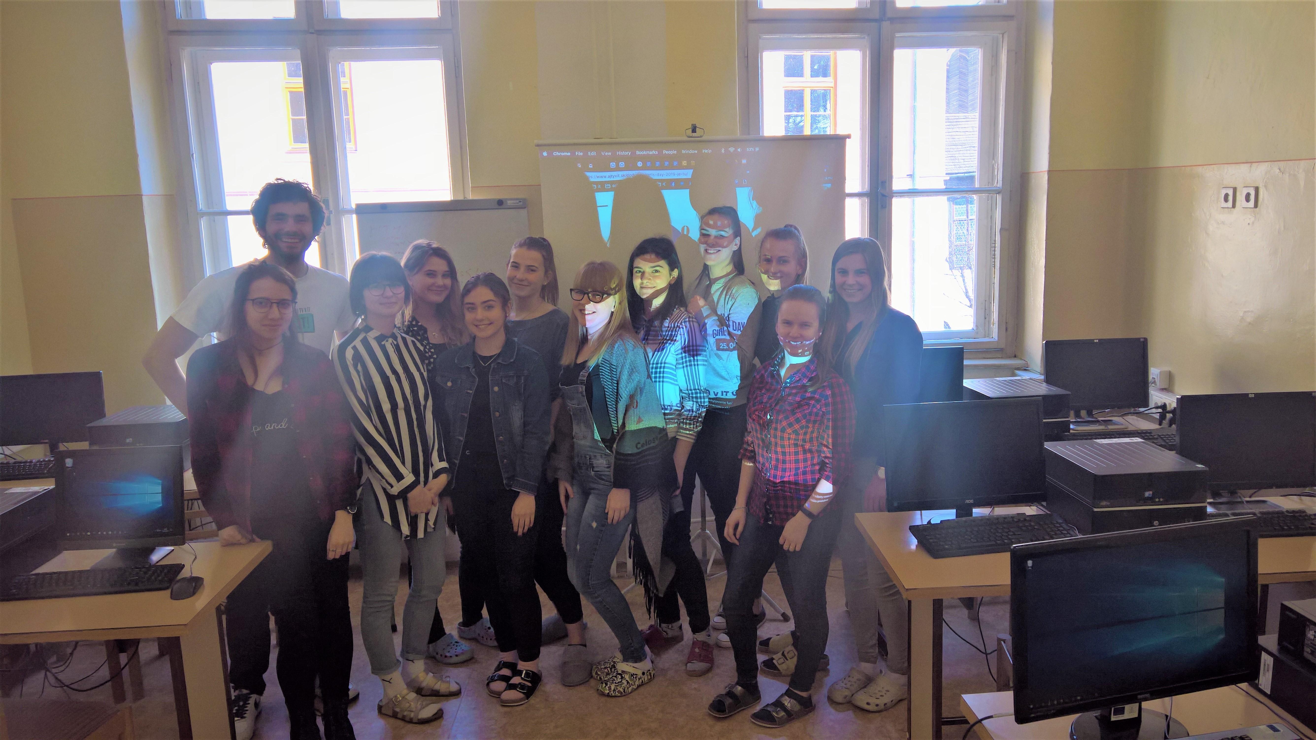 IT workshop pre dievčatá