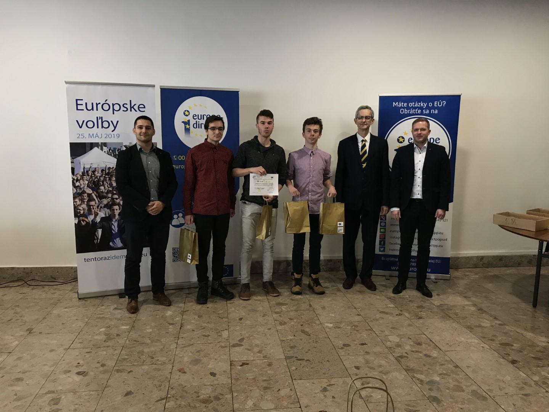 Mladý Európan – regionálne kolo