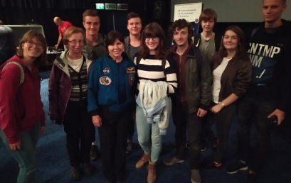 Prednáška s astronautkou Mary Ellen Weber