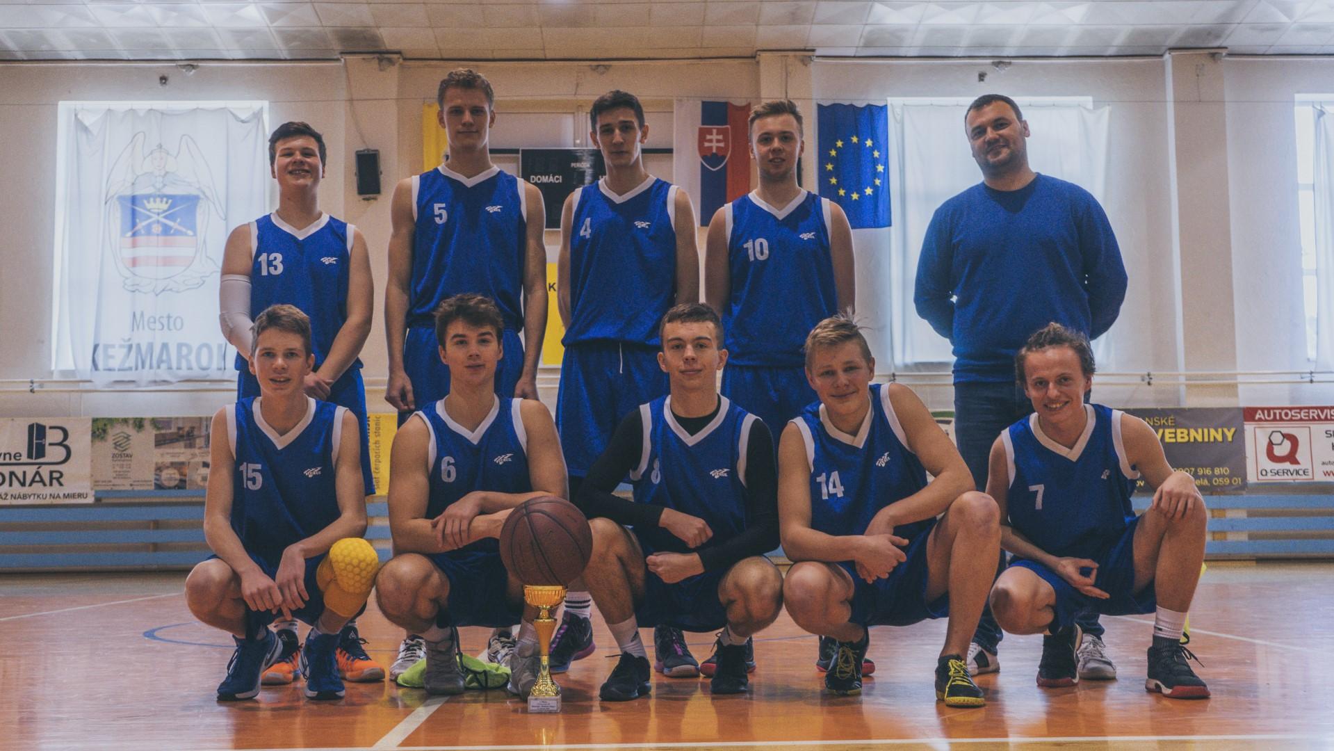 Okresný turnaj stredných škôl v basketbale