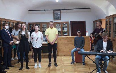 Školská kapela na otvorení Literárneho Kežmarku 2020