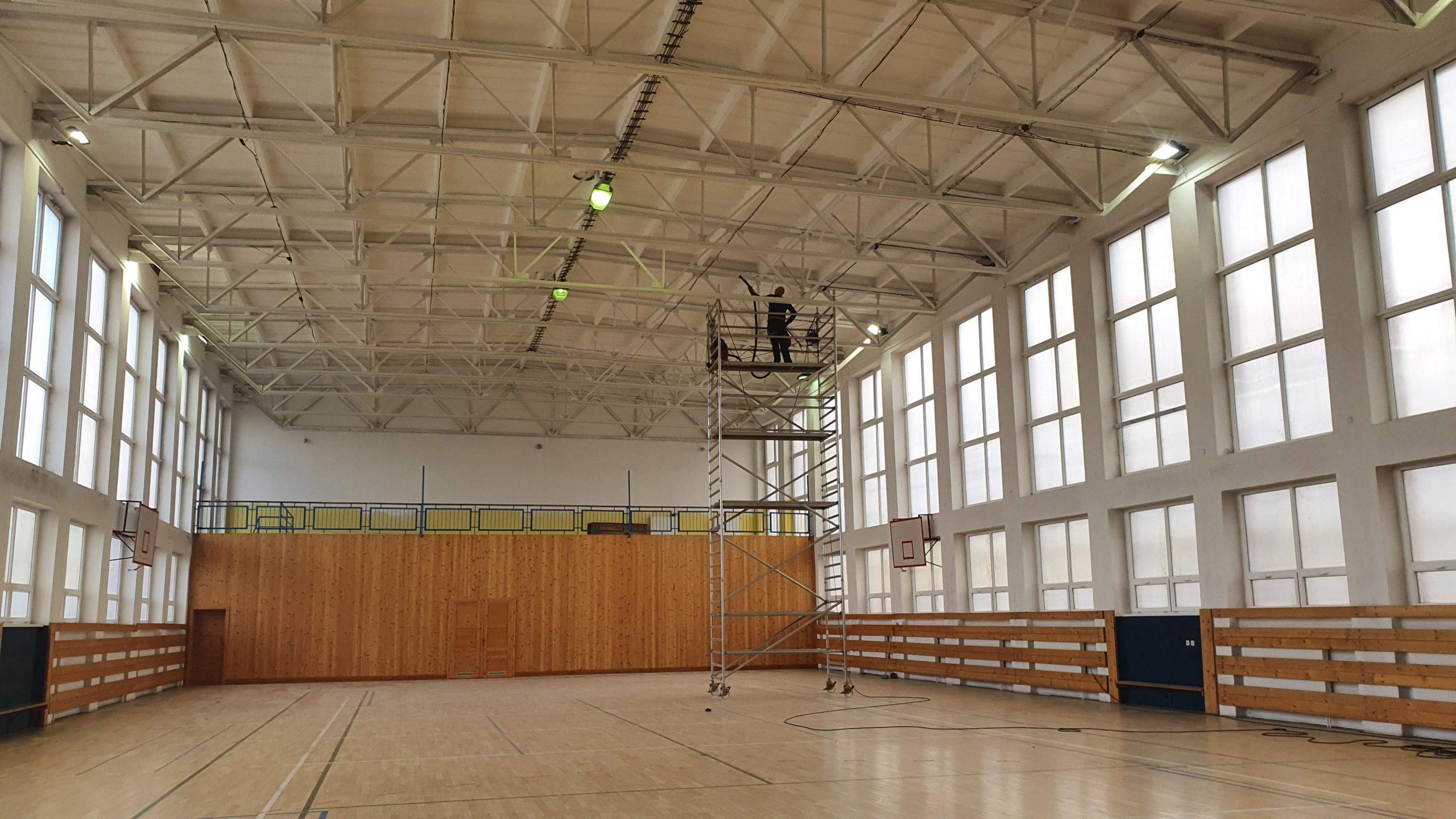 Rekonštrukcia strechy telocvične