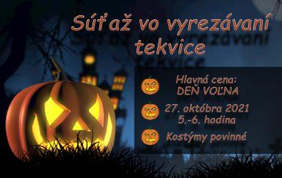 Halloween súťaž 27.10.2021